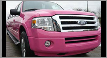 Pink Ford Excursion